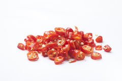 crushed red pepper Royalty Free Stock Photo