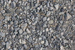 Crushed rock. Apply roadworks  or Road construction Stock Image