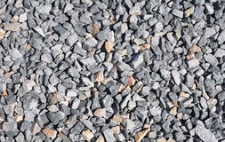 Crushed rock. Colorful and crisp image of crushed rock royalty free stock photos