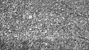 Crushed rock gravel Royalty Free Stock Photography