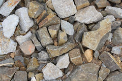 Crushed rock Royalty Free Stock Photography