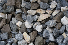 Crushed rock Stock Photo
