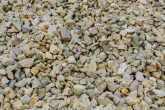 Crushed rock used for construction Stock Photography