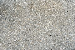 Crushed shell background. Crushed shell used with cement to build walls, buildings or sidewalks stock photography