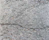 Crushed shell background. Crushed shell used with cement to build walls, buildings or sidewalks stock photo