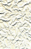Crushed standard sheet Royalty Free Stock Images