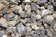 Crushed stone Royalty Free Stock Photos