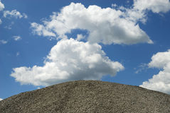 Crushed stone Stock Photos