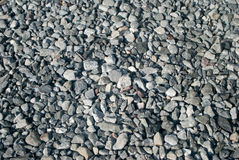 Crushed stone abstract textured background. Crushed stone crushed rock abstract textured background Stock Photo