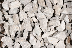 Crushed stone background Royalty Free Stock Photo