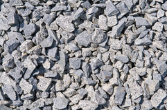 Crushed stone background Stock Photography