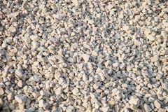 Crushed stone. Background, close-up stock photo