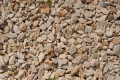 Crushed stone background Royalty Free Stock Images