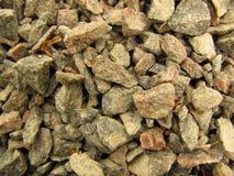 Crushed stone Stock Photography