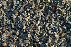 Crushed stone Stock Photography