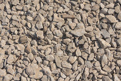 Crushed stone Royalty Free Stock Photography