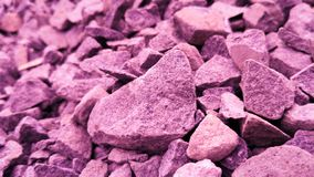 Crushed stone royalty free stock images