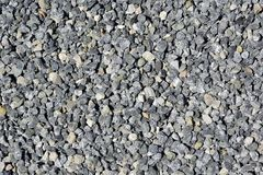Crushed stone ground floor stock images