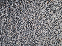 Crushed stone on the ground Royalty Free Stock Images