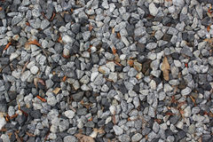 Crushed stone Rock texture background. Stock Image