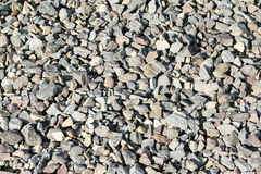 Crushed  stone texture as background Royalty Free Stock Images
