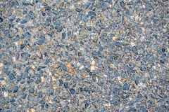 Crushed stone texture Royalty Free Stock Images