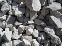 Crushed stone texture Royalty Free Stock Photo