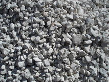 Crushed stone texture Stock Images