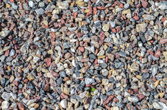 Crushed stones Royalty Free Stock Photography