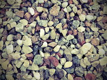 Crushed stones patter. Different shape and colors stones background royalty free stock images