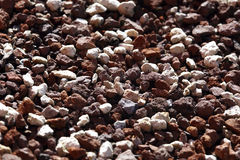 Crushed Stones Texture Background Stock Photos