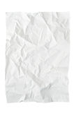 Crushed textured paper Stock Image