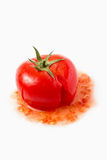 Crushed Tomato Stock Photography