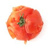 Crushed Tomato Stock Photo