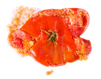 Crushed tomatoes Royalty Free Stock Photography