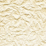 Crushed white paper texture Stock Images