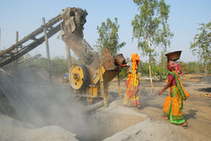 Crusher mine in India Stock Photography