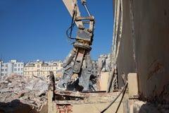 Crushing machine  jaws Royalty Free Stock Photo