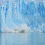Crushing of Perito Moreno glacier. Stock Photography
