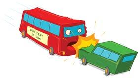 Crushing vehicles Royalty Free Stock Image
