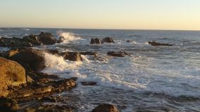 Crushing Waves stock images