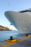 Crusie Ship at Port Royalty Free Stock Photo