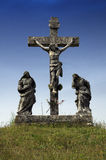 The crusifiction of Jesus Christ in Zminj,Istria,Croatia Royalty Free Stock Photo
