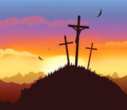 Crusifixion Stock Photography