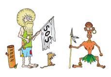 Crusoe del Robinson Immagini Stock