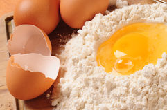 Crust ingredients. Stock Photography