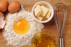 Crust ingredients. Royalty Free Stock Image