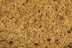 Crust of rye bread  background Stock Photo
