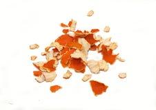 Crust of tangerine Stock Images