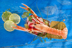 Crustacean canned Royalty Free Stock Images